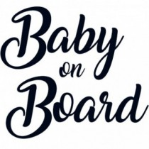 Baby Autoaufkleber BS102