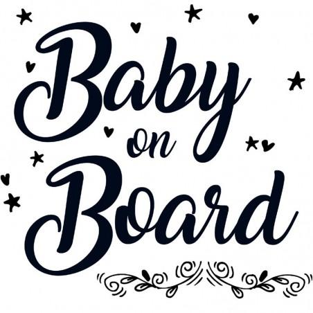 Baby Autoaufkleber BS103