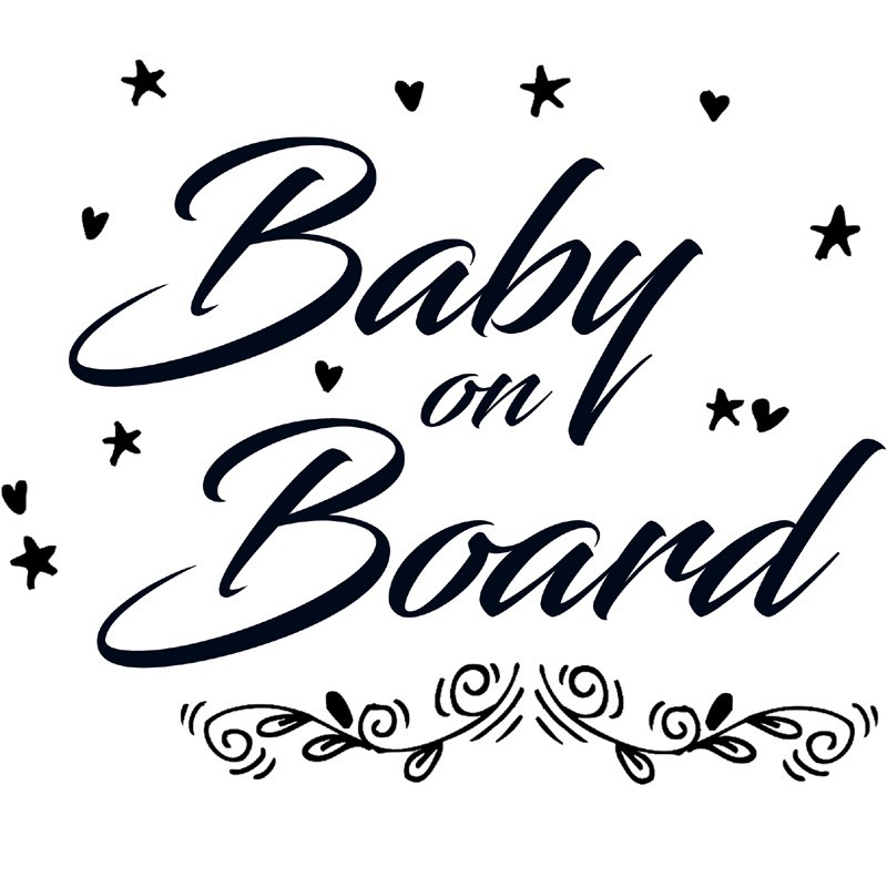 Baby Autoaufkleber BS101